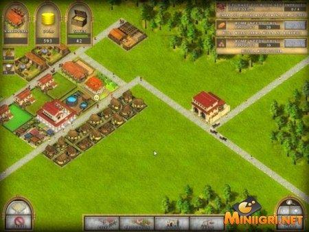 romadoria браузерная игра рим и римская империя