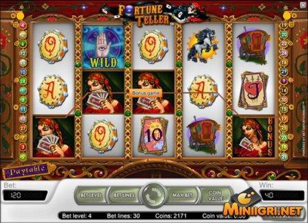 Узнайте свою судьбу в игровом автомате Forutne Teller
