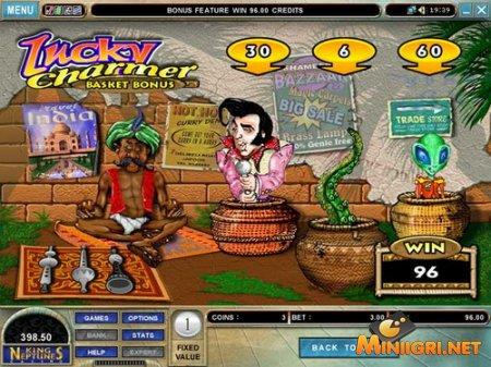 Игровой автомат - Счастливый Чародей!