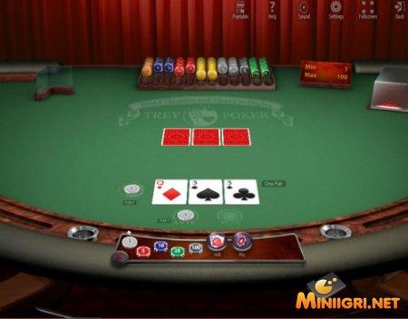 Введение в трехкарточный покер