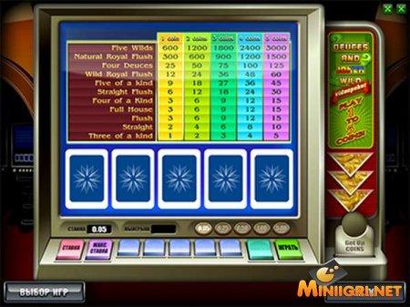 Игровой автомат Deuces And Joker